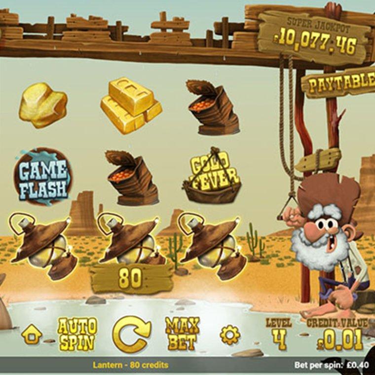 Online spil - Gold Rush