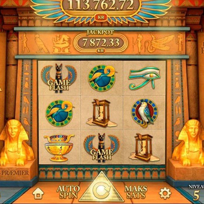 Online spil - Golden Pyramid