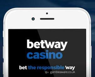 Betway casino på mobilen