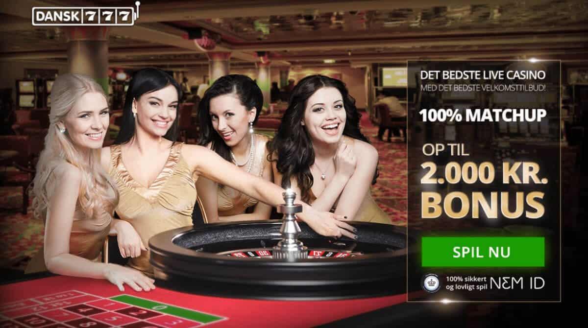 Dansk777 casino bonus