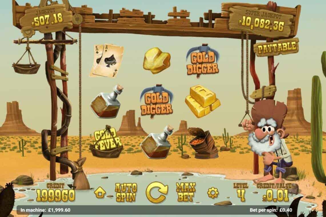 Gold Rush spillemaskine
