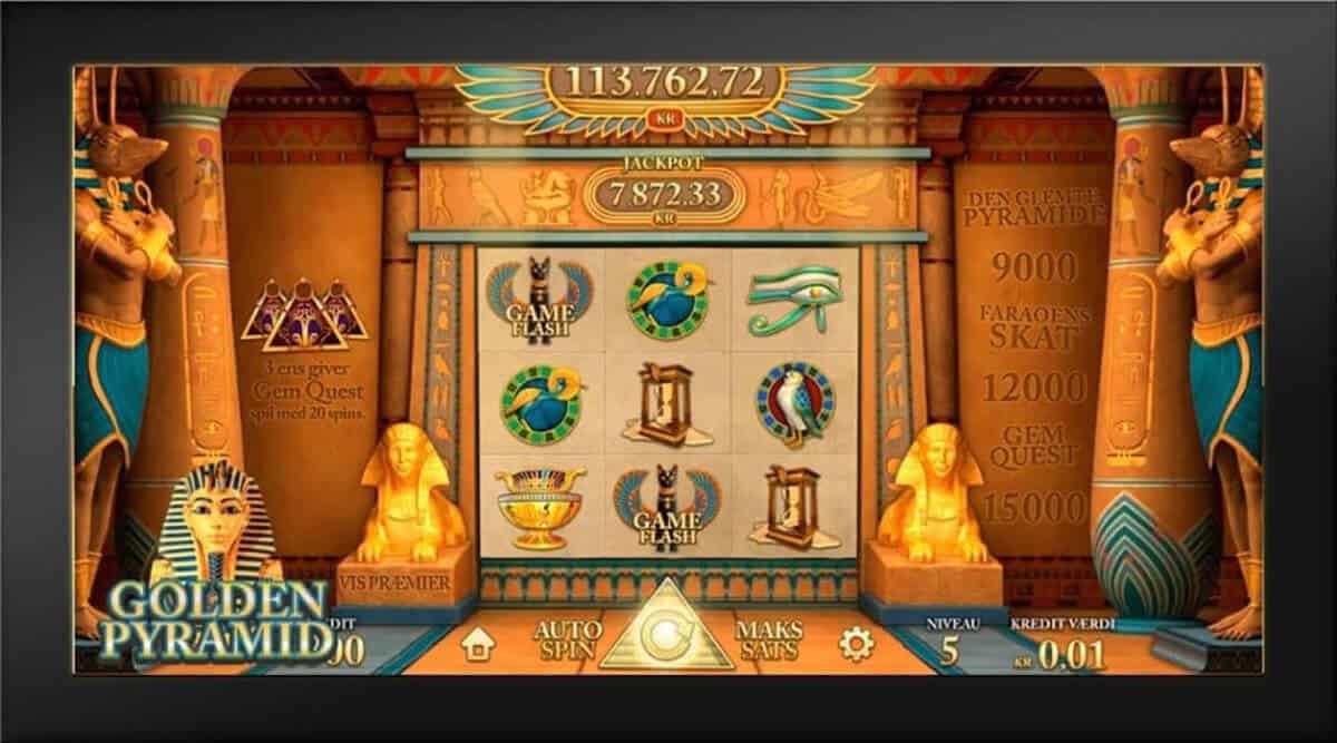 Golden Pyramid spillemaskine
