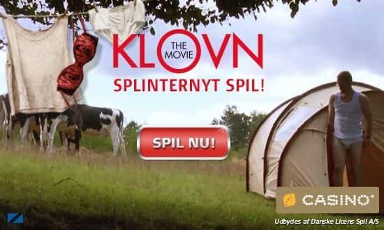 Klovn the Movie spillemaskine