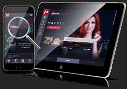 Maria Casino på mobil og tablet