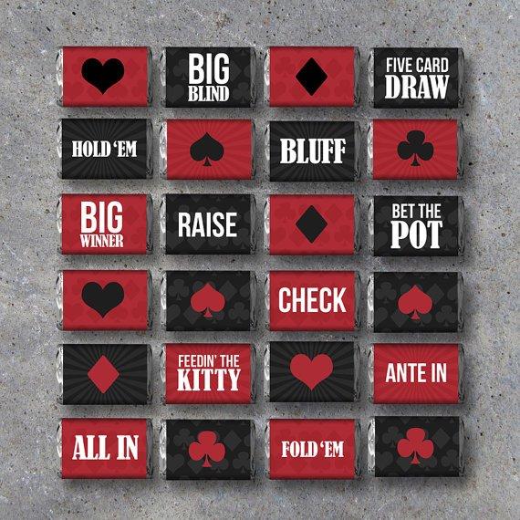 Poker termer