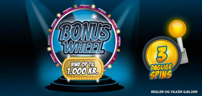 Spillehallen BonusWheel